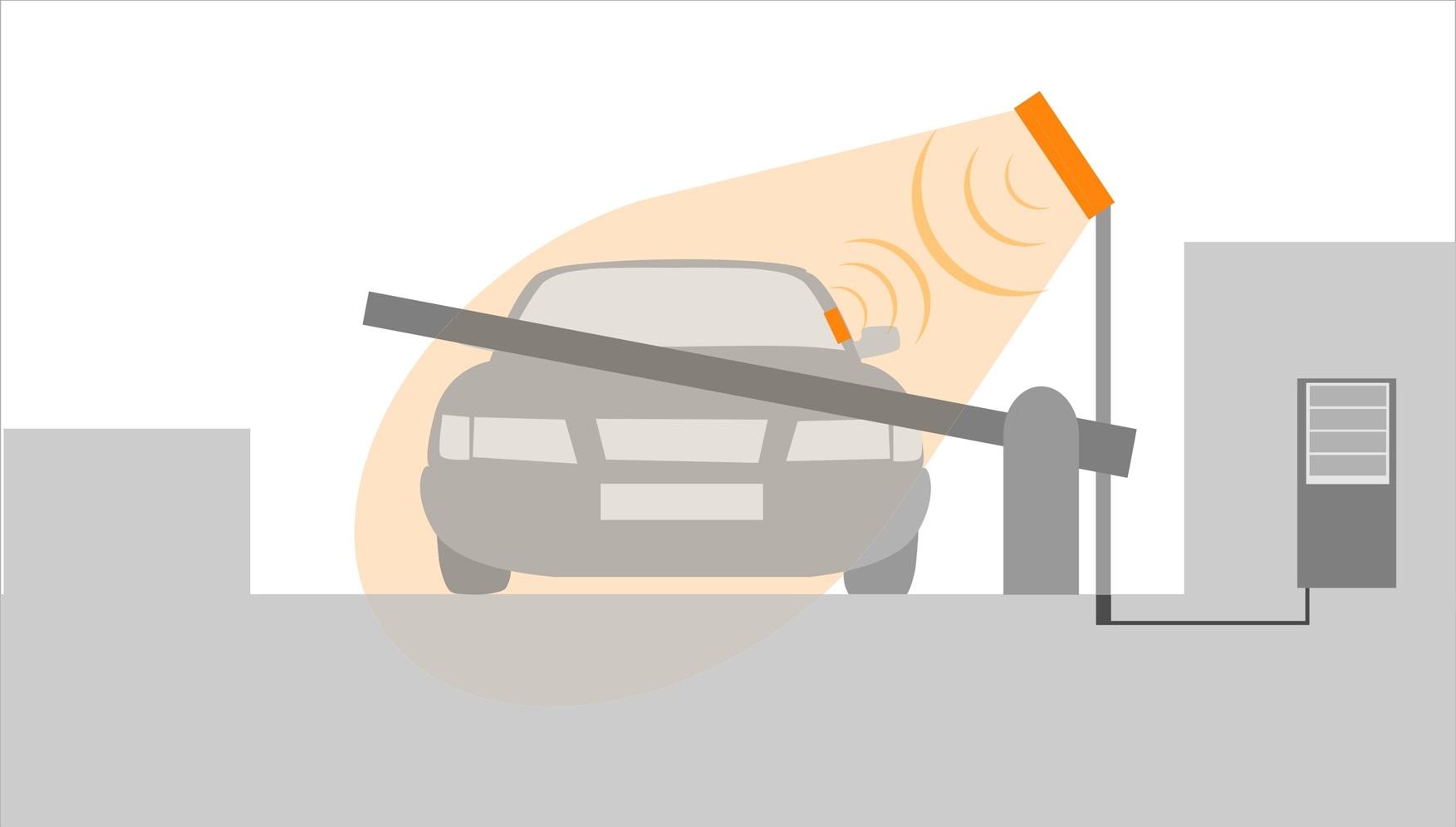 RFID метка на лобовое стекло автомобиля
