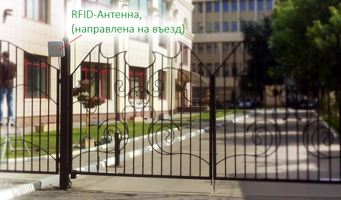 RFID-антенна для идентификации автомобилей
