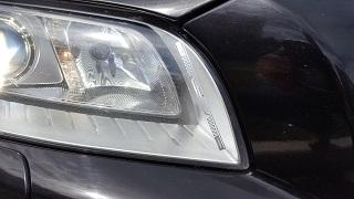 RFID-наклейка на фару автомобиля