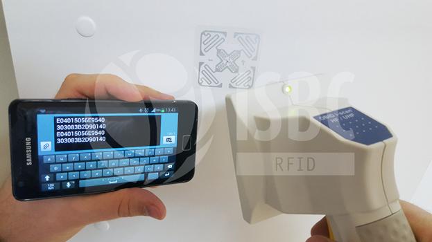 RFID работа в режиме эмуляции клавиатуры